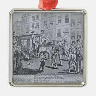 The British Patriots Procession through Christmas Ornament