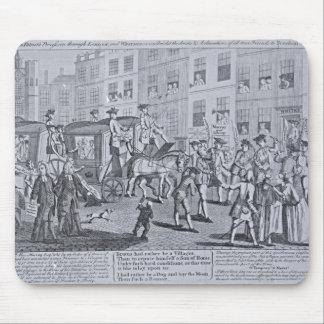 The British Patriots Procession through Mouse Mat