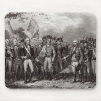 The British Surrendering their Arms Mouse Mat