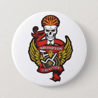 The Brompton Chapter Pin Badge (Folding Bike)