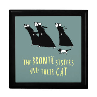 The Bronte Sisters and Their Cat Gift Box