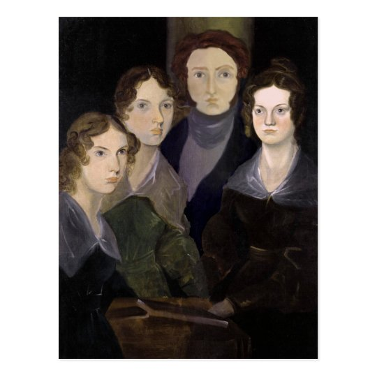 The Brontës ~ Restored Pillar Portrait Postcard