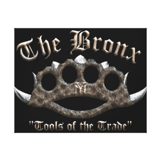 The Bronx - Spiked Brass Knuckles Canvas Prints