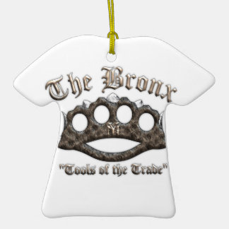 The Bronx - Spiked Brass Knuckles Ornaments