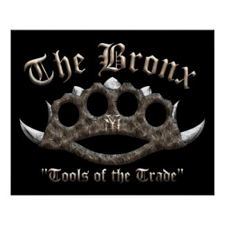 The Bronx - Spiked Brass Knuckles Poster