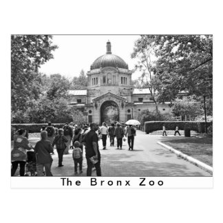 The Bronx Zoo Entrance Postcard