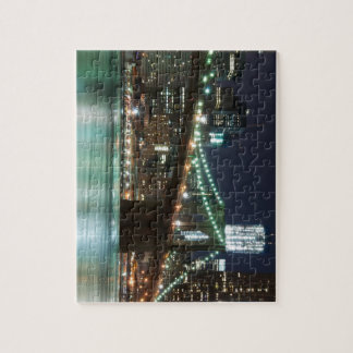 The Brooklyn Bridge - Color Jigsaw Puzzle