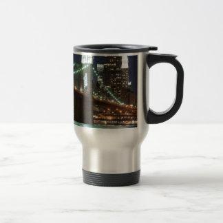 The Brooklyn Bridge - Color Travel Mug