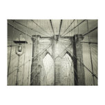 The Brooklyn Bridge Gallery Wrapped Canvas