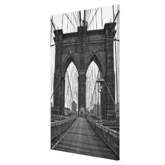 The Brooklyn Bridge in New York City Canvas Print