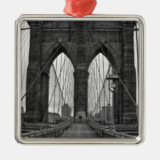 The Brooklyn Bridge in New York City Christmas Ornament