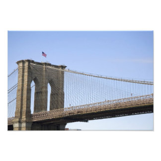 The Brooklyn Bridge in New York City, New 2 Photo Print