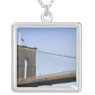 The Brooklyn Bridge in New York City, New 2 Silver Plated Necklace