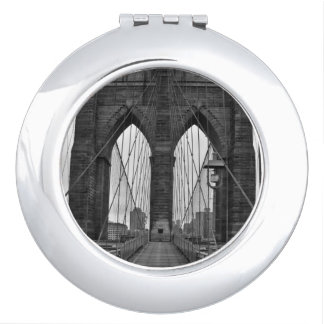 The Brooklyn Bridge in New York City Vanity Mirror