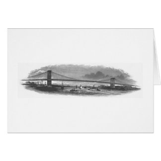 The Brooklyn Bridge Note Card