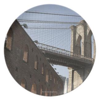 The Brooklyn Bridge Plate
