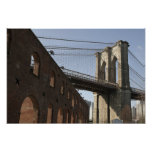 The Brooklyn Bridge Poster