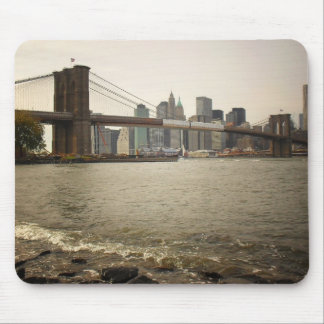 The Brooklyn Bridge, View from Brooklyn Mouse Mat