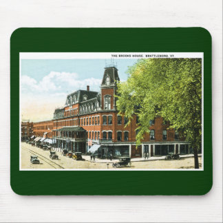 The Brooks House, Brattleboro, Vermont Mouse Pad
