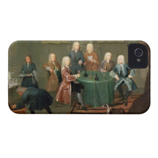 The Brothers Clarke with Other Gentlemen Taking Wi iPhone 4 Case-Mate Case