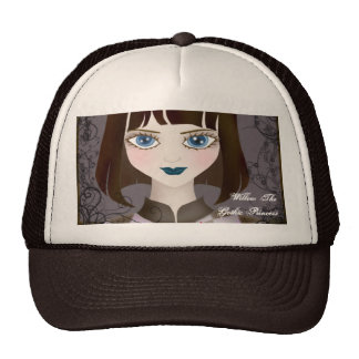 The Brown-haired Girl Bullcap Cap
