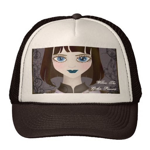 The Brown-haired Girl Bullcap Hat