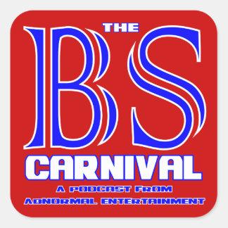 The BS Carnival Square Sticker