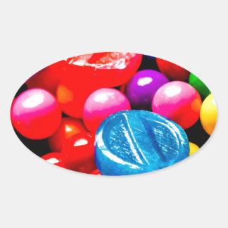 The Bubblegum Oval Sticker