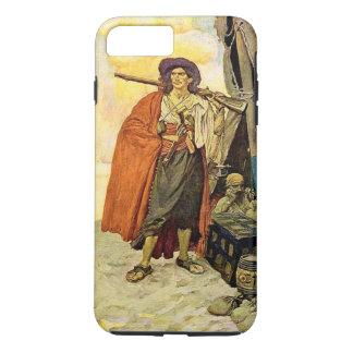 The Buccaneer - pirate art iPhone 7 Plus Case