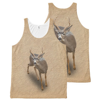 THE BUCK STOPS HERE All-Over PRINT TANK TOP
