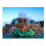 the Buckingham Fountain - Chicago Post Card