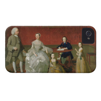 The Buckley-Boar Family, c.1758-60 (oil on canvas) Case-Mate iPhone 4 Cases