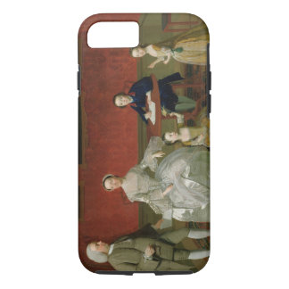 The Buckley-Boar Family, c.1758-60 (oil on canvas) iPhone 8/7 Case