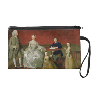 The Buckley-Boar Family, c.1758-60 (oil on canvas) Wristlet