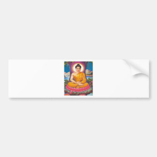 The Buddha Bumper Sticker