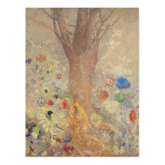 The Buddha by Odilon Redon Postcard