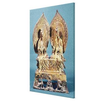 The Buddhas Prabhutaratna and Sakyamuni Canvas Print