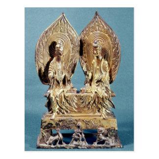 The Buddhas Prabhutaratna and Sakyamuni Postcard