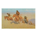 The Buffalo Runners, Big Horn Basin by Remington