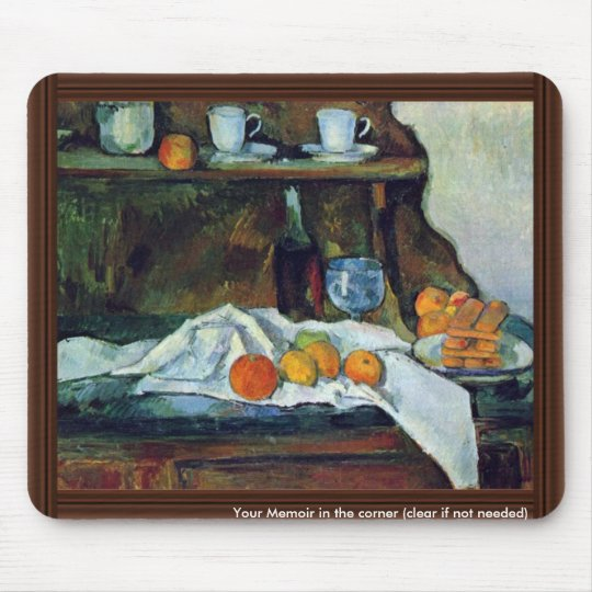 The Buffet By Paul Cézanne (Best Quality) Mouse Pad