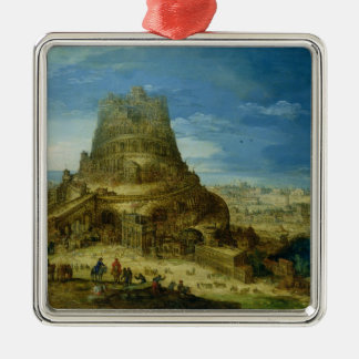 The Building of the Tower of Babel Christmas Ornament