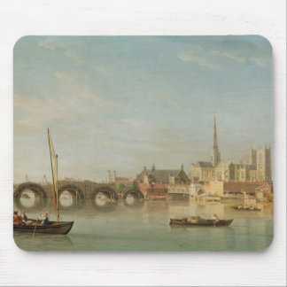The Building of Westminster Bridge with an imagina Mouse Mat