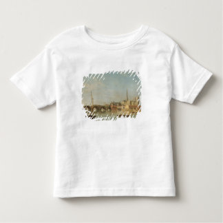 The Building of Westminster Bridge with an imagina Toddler T-Shirt