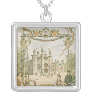 The Bulgarian Pavilion at the Universal Silver Plated Necklace