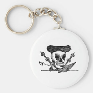 """""""The Bull Fighting Calavera"""" Mexico c. late 1800's Keychains"""