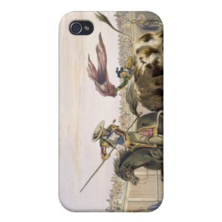 The Bull Following up the Charge, 1865 (colour lit Cases For iPhone 4