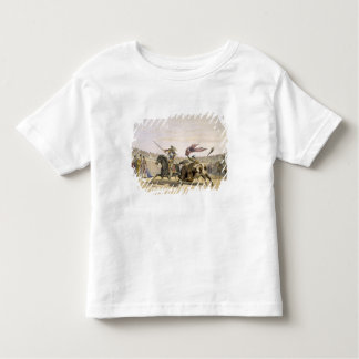 The Bull Following up the Charge, 1865 (colour lit Toddler T-Shirt