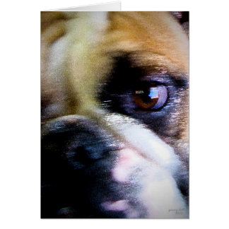 The Bulldog II Greeting Card