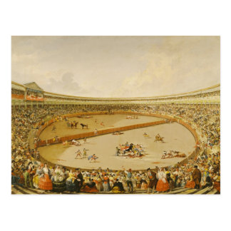 The Bullfight Postcard