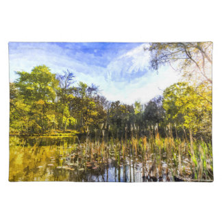 The Bulrush Pond Art Placemats